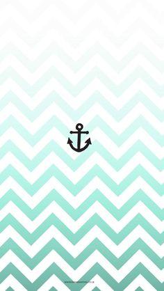 Free Drop Anchor iPhone Wallpaper