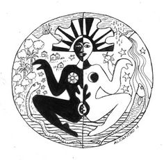 Mama Pacha: Medallion picture of the Bolivian version of Mother Earth Peru Tattoo, Mama Tattoo, Avengers Coloring Pages, Beautiful Dark Art, Zodiac Art, Weird Creatures, Environmental Art, Divine Feminine, Mother Earth