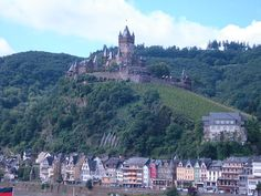 Cochem, Germany  Castle Cochem -- the very first (of many) castles I visited.