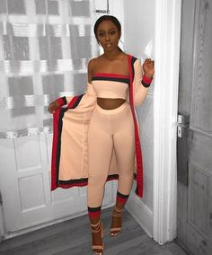 Black Girls Casual wear Vintage clothing on Stylevore Stylish Outfits, Cute Outfits, Fashion Outfits, Fashion Trends, Dope Fashion, Fashion Killa, Mode Hijab, Womens Fashion Online, Swagg