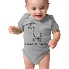 Master of Disguise - a giraffe and a mustache ALL ON ONE SHIRT??!!