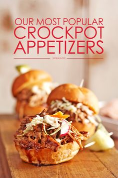 Get ready for movie night with the kids or the big game with these delicious crockpot #appetizers.