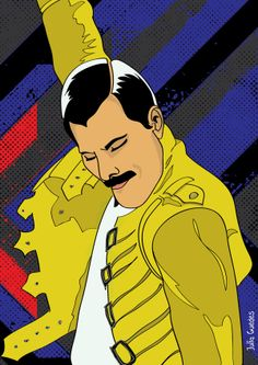Freddie Mercury (born Farrokh Bulsara; 5 September 1946 – 24 November 1991)