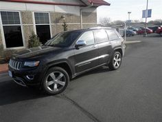 Used 2014 Jeep Grand Cherokee Overland for sale at Brenengen Chevrolet in West Salem, WI for $19,999. View now on Cars.com.