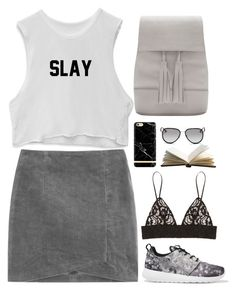 """""""Untitled #2772"""" by wtf-towear ❤ liked on Polyvore featuring NIKE, MSGM, Richmond & Finch and Michael Kors"""