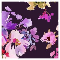 After painting up a storm this week we've put some of the florals into this fresh design. Soft tonal shades with pop highlights create a trans-seasonal feel. #watercolour #studio #painting #sydney #floral #flowers #fashion #studio #inspiration #prints #textiles #design #lpdloves