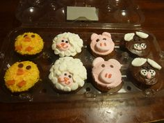 cupcakes for kids | The Crafts Corner: Farm Animal Cupcakes