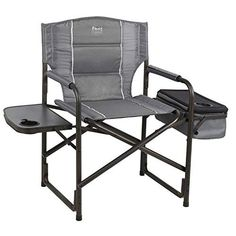 Blue Directors Camping Chair with Side Table One Size Eureka