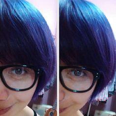 Manic Panic's Lavender Blue! :)
