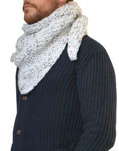 Les Essentiels by Sw #Trendy châle homme #scarf #men #fashion