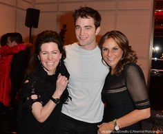 new/old fan pics from Toronto Nov. '13 ~ Rob was filmin' LIFE but dropped in for David Cronenberg's Canadian Screen Award dinner ~ Robin Mirsky, Robert Pattinson and guest