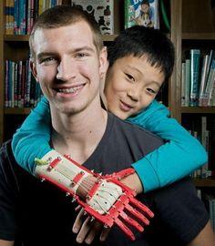 3ders.org - Teen uses 3D printer to make a 'Robohand' for third grade boy   3D Printer News & 3D Printing News