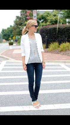 I need this blazer in white!