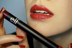Elf Cosmetics Matte Lip Color in Rich Red