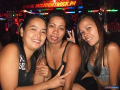 Three Filipina bargirls from Angeles City Philipines #philippines #nightlife #bargirls #angelescity