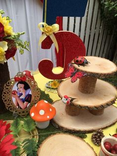 Enchanted Snow White Theme Birthday Party Ideas | Photo 1 of 13
