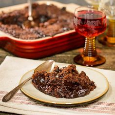 Hot Fudge Pudding Cake for #SundaySupper