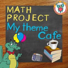 Winter math project project based learning ride shop math end of year math project my theme cafe project based learning fandeluxe Gallery