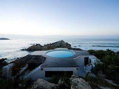 casa de playa moderna y original