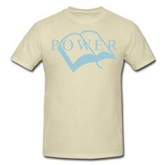 Power T-shirt www.godmoves.spreadshirt.com