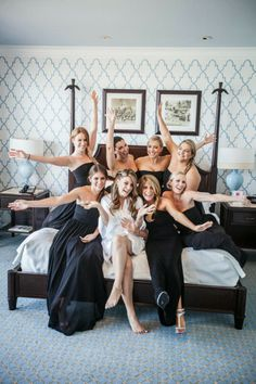 Fun Bridesmaids picture ~ Contemporary Luxury Wedding at The Breakers ~ LUVROX Photography | bellethemagazine.com