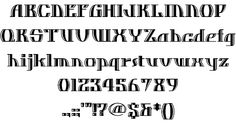 Dos Equis font by Nick's Fonts - FontSpace