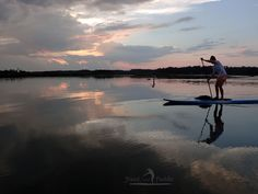 Another Stunning Beautiful night out on the May River!  This is Erinn paddling SUP with Stand and Paddle on a Sunset Paddle lesson & tour.    Sunset paddles, Moonlight paddles, Sunrise paddles, group lessons & outings and more SUP Adventures with www.StandandPaddle.com