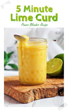 Fab Food 4 All 5 Minute Lime Curd – tangy & delicious. Made in the KitchenAid Power Plus Blender for super fast results! Blender Recipes, Crockpot Recipes, Soup Recipes, Chicken Recipes, Vegetarian Recipes, Cooking Recipes, Healthy Recipes, Potato Recipes, Pasta Recipes