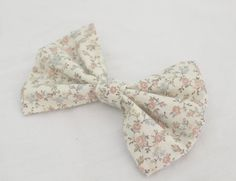 Hey, I found this really awesome Etsy listing at https://www.etsy.com/listing/189712737/floral-bow-fabric-bow-hair-bow-for-teens
