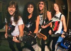 Metallica - When they still were worth listening to.