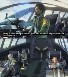 Texts from Final Fantasy XIII: Photo