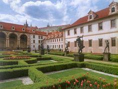 Česko, Praha - Valdštejnská zahrada