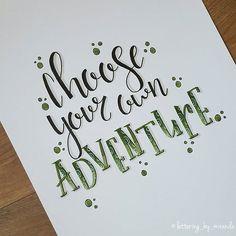 Nr 7/31 van de Januari #dutchlettering challenge van @dutchlettering . . #letteringbymiranda #moderncalligraphy #brushlettering #handlettering #handletteren #handwritten #handdrawn #modernlettering #blending #blendingcolors #letterart #micronpen #uniposca #koibrushpen  #tombowdualbrushpens