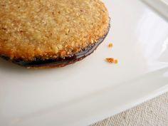 Oatmeal Almond & Chocolate Sandwich Cookies