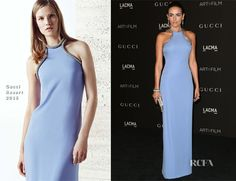 Camilla Belle attended the 2014 LACMA Art + Film Gala on Saturday (November 1) in Los Angeles. The actress, who has been a close friend of the brand, wore