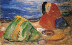 Edvard Munch - Melancholy Nasjonalmuseet for Kunst, Arkitektur og Design (Norway - Oslo) Date unknown