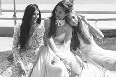 El estilo de las novias Immaclé. Novias aparentemente frágiles pero seguras de si mismas. www.immacle.com