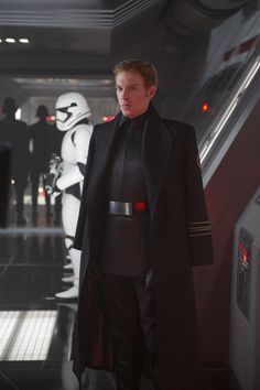 "General Hux of the First Order in ""Star Wars: The Force Awakens"""