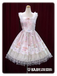 Salon de thé Minette Macaron jumper skirt