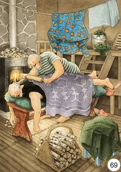 Old Lady Humor, Nordic Art, Fun Illustration, Whimsical Art, Funny Art, Old Women, Illustrators, Fantasy Art, Art Drawings