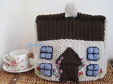 VINTAGE COUNTRY COTTAGE TEA COSY KNITTING PATTERN ONLY (INSTRUCTIONS)