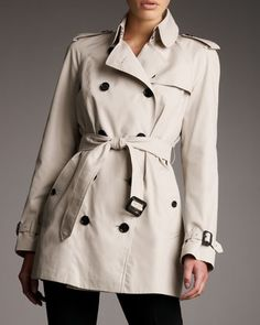 Mottram Trench, Trench by Burberry Brit at Neiman Marcus.