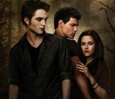Twilight Saga - Edward, Bella & Jacob