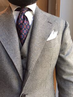 Houndstooth - one of my favorites http://theitaliancut.tumblr.com/