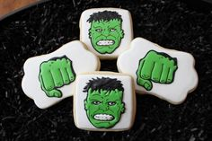 Hulk Cookies | Cookie Connection