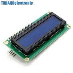 1 sztuk Niebieski Wyświetlacz IIC/I2C/TWI/Interfejs Szeregowy SPI 1602 16X2 Moduł LCD 1602 lcd i2c