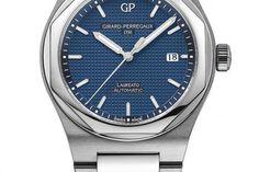 10 montres & un coussin - Girard-Perregaux Laureato - lesoir.be