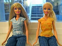 Barbie Clothes Sewing Links || Scribbles & Such