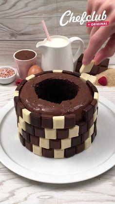 Brownie Recipe Video, Brownie Recipes, Cake Recipes, Dessert Recipes, Tasty Videos, Food Videos, Cakes That Look Like Food, Kreative Desserts, Köstliche Desserts