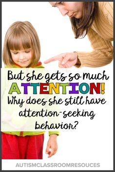 "The reactions that we provide to students in response to their attention-seeking behavior is often more reinforcing than we realize. Take a look at how you can put strategies in place to positively and effectively reduce attention-seeking behavior without ""just"" ignoring it."